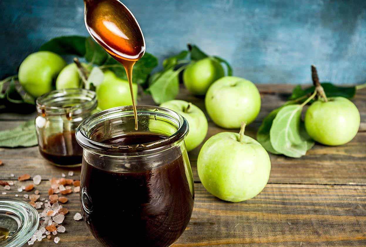 فروش عمده شیره سیب